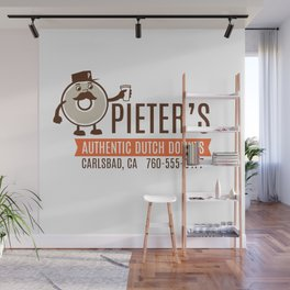 Pieter's Donuts Wall Mural
