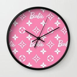 Barbie Flower Wall Clock