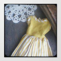 Yellow Dress TTV Canvas Print