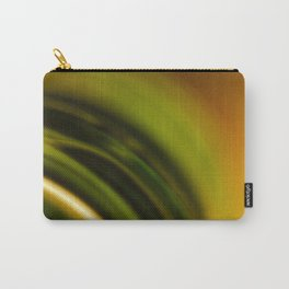 Green and Orange Carry-All Pouch