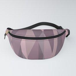 pink pastel geometric Fanny Pack