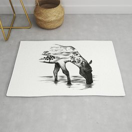 Southern Horse Wild Life Rug
