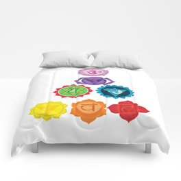Seven Chakras Comforters