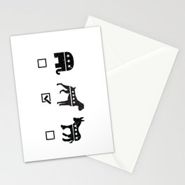 VOTE BOXER Stationery Cards