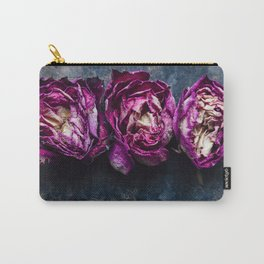 Three Rose Buds Carry-All Pouch