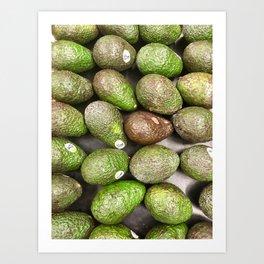Avocado Art Print