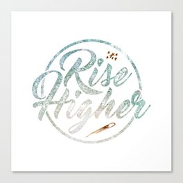 Rise Higher Shooting Star Canvas Print