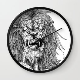HELL'S ZODIAC - LEO Wall Clock