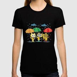 Rainy Day Kitty Cats T-shirt