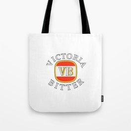 victoria bitter white Tote Bag