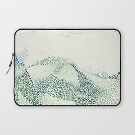 Meeting mountains Laptop Sleeve