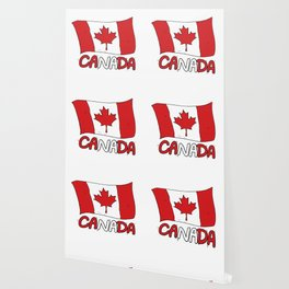 Canadian Flag Canada Gift Wallpaper