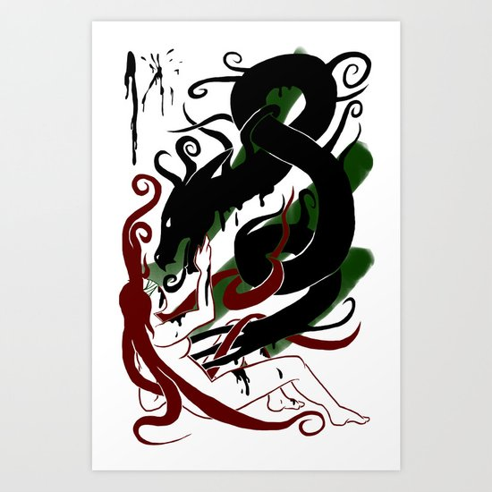 The Better Demons of our Nature Art Print