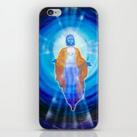 jesus iPhone & iPod Skins featuring Jesus by Walter Zettl