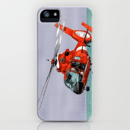 DOLPHIN RESCUE iPhone Case