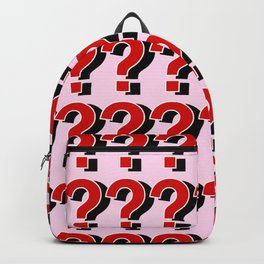 Questions Marks??? Backpack