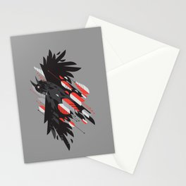 Crow Escape Stationery Cards