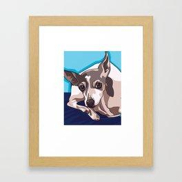 Jasmine Dog Framed Art Print