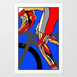 Tour de France Legs Art Print