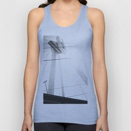 Bridge in Ludwigshafen, Germany. Unisex Tank Top