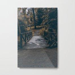 Bridge to nowhere Metal Print