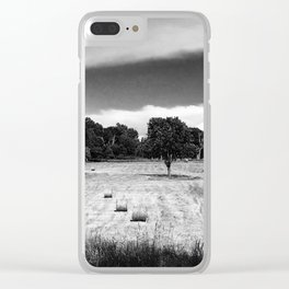 Field Rd Rolls Clear iPhone Case