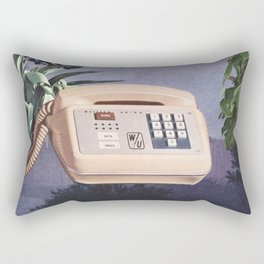 Late Nite Phone Talks Rectangular Pillow