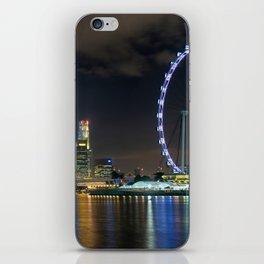 Singapore By Night iPhone Skin