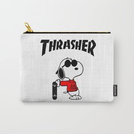 Snoopy Skateboard Carry-All Pouch