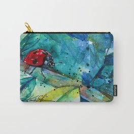 Ladybug - by Kathy Morton Stanion Carry-All Pouch