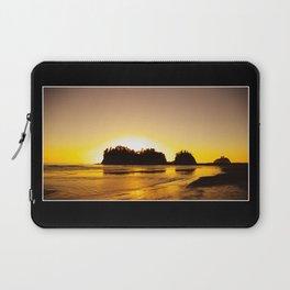 sunset gold Laptop Sleeve