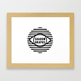 Shadowgraphs Small Framed Art Print