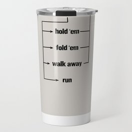 Gambler Travel Mug