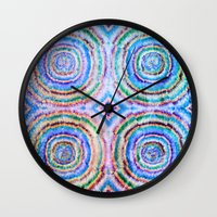 frozen Wall Clocks featuring Frozen by Truly Juel