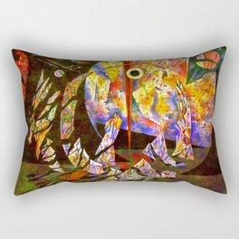 through Rectangular Pillow