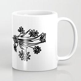 Listen to flowers Coffee Mug
