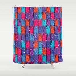 Modern Contrast 2 Shower Curtain