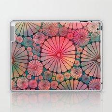Abstract Floral Circles Laptop & iPad Skin