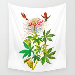 Ruff-Necked Hummingbird Wall Tapestry
