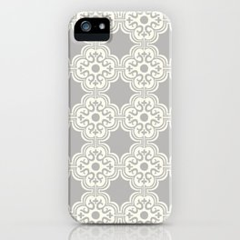 Maddie Modern Tile in Gray iPhone Case