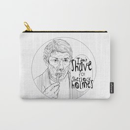 Shave for Sherlock Carry-All Pouch