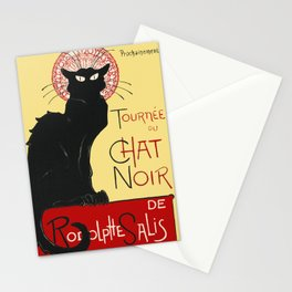 Tournee Du Chat Noir - 1896 Poster Stationery Cards