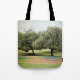 Hillcountry Bluebonnets Tote Bag