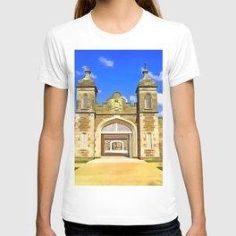 Antrim Castle, Ireland. (Painting) T-shirt