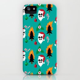 Chaos Christmas iPhone Case