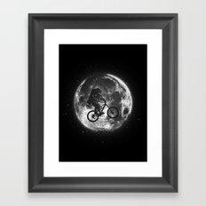 E.T.B. (monochrome series) Framed Art Print