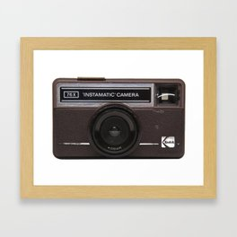 Instamatic Camera 2 Framed Art Print