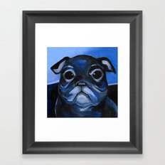 BAGEL EYES Framed Art Print