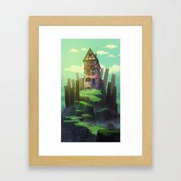 The Spirits of the Valley Framed Art Print