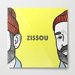 Zissou #2 Metal Print